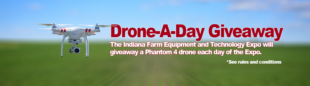 indiana farm show drone giveaway